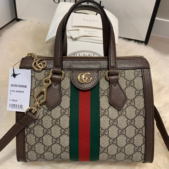 Gucci 2019 Small Ophidia GG Supreme Satchel NWT
